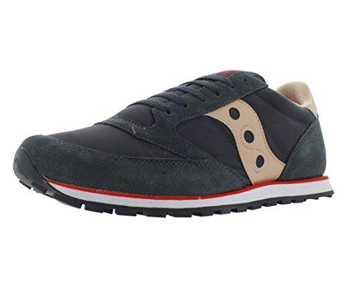 Saucony Jazz Low Pro, Zapatillas de Running Hombre, Gris (Charcoal/Tan), 43 EU