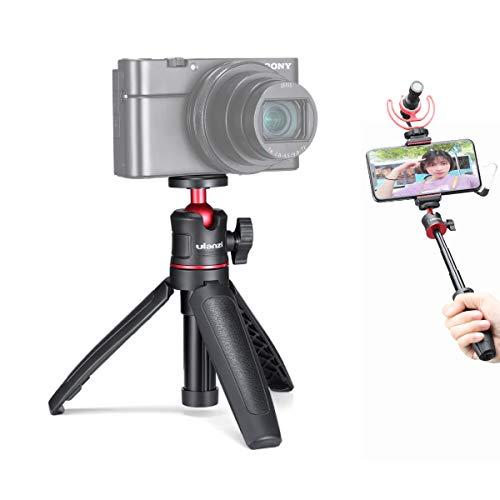 """ULANZI MT-08 Faltbares Mini-Handstativ für kleine Vlog-Kamera für Sony RX100 VII, für Canon G7X Mark III, Universal 1/4 """""""