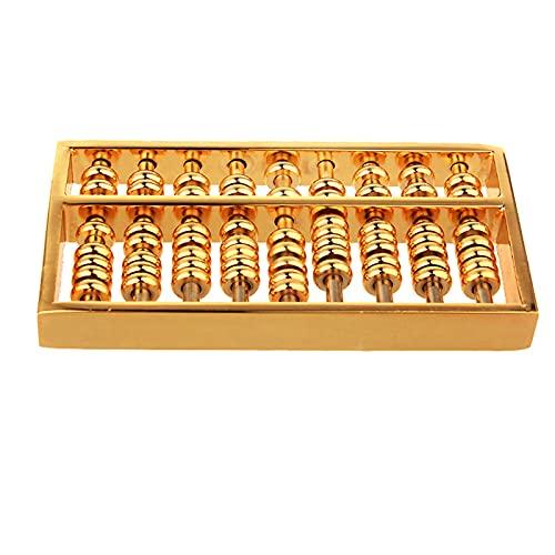 XIAOZHEN Abacus Escultura Decoración Feng Shui latón Abacus Colgante Wenchang Pen Ruyi Abacus Decoración Llavero Llavero Colgante (Tamaño: 8,8 x 4,3 x 1 cm)