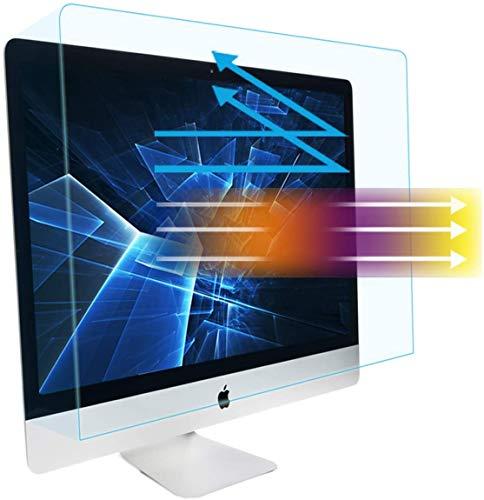 MUBUY Eye Protection Anti Blue Light Anti Glare Screen Protector fit iMac 27-inch Desktop Display and iMac Pro 27-inch A1862, Reduce Glare Reflection and Eyes Strain, Fingerprint-Resist