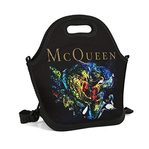 MUSOWIC an-Alexander-McQueen-Documentary-Film- Lunch Bag Insulated Thermal Work Lunch Box Tote