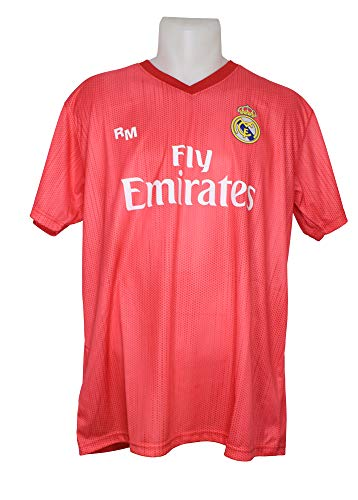 Camiseta Adulto - Personalizable - Tercera Equipación Replica Original Real Madrid 2018/2019 (M)