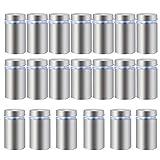 HSeaMall20 PZ In acciaio inox Pubblicità Vite di vetro Standoff Bulloni Supporto Vite Seg...