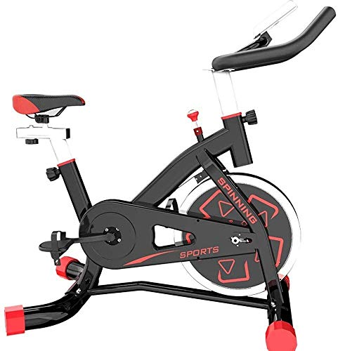 BECCYYLY Spinning Bike Exercise Bikes Fitness Room Bicicleta Cycling Sports Family Bicycle Bici Estatica Fitness wmpa (Color : Black)