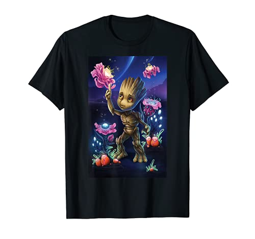 Marvel Guardians Of The Galaxy Groot Plants Graphic T-Shirt