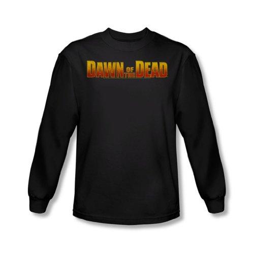 Dawn Of The Dead - Aube Logo shirt à manches longues pour hommes en noir -, X-Large, Black