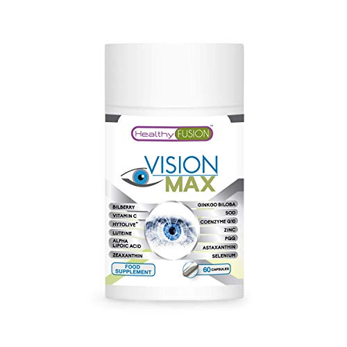 Vision Supplement with Lutein and zeaxanthin | Powerful optimiser and Vision Protector | Strengthens Eye Tissue + Improves Day and Night Vision | Exclusive Eye Health Treatment | 60 Vegan Capsules