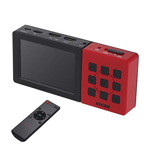 Fesjoy 273A HD Videoregistratore Scatola Videoregistratore Scatola Portatile Compatible with acquisizione Giochi con Schermo LCD da 3,5 Pollici Compatible with acquisizione Giochi 1080P 60fps