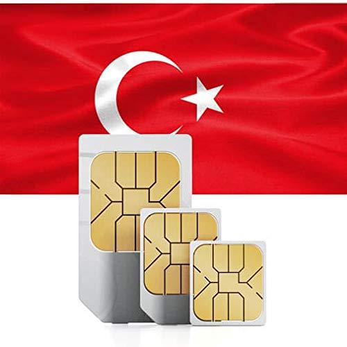 travSIM Türkische Prepaid SIM-Karte (Daten SIM für die Türkei) - 1GB Mobile Daten zur Nutzung in der Türkei gültig für 30 Tage - die Türkische Daten SIM-Karte funktioniert in 30+ Ländern