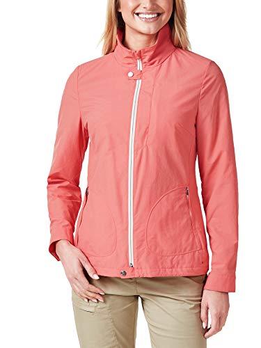 Klepper Damen Cotton Jacke einfarbig Koralle 42