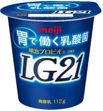 明治 プロビオヨーグルト LG21 112g×12個