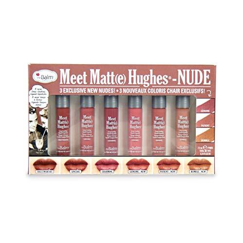 theBalm Meet Matte Hughes Nude 6 piece Mini Liquid Lipstick Set