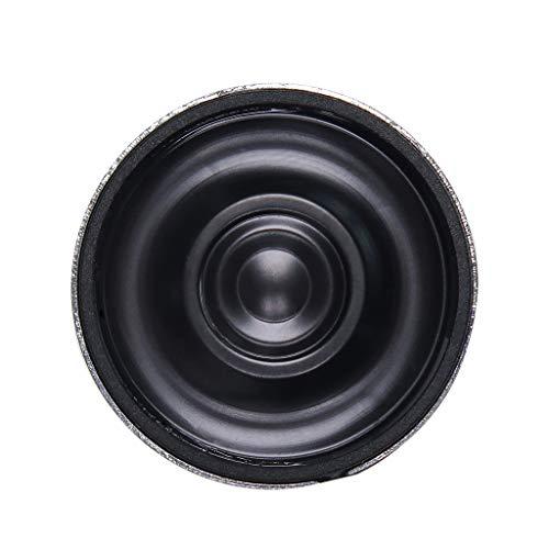 Almencla Schwarz Interne Lautsprechertrompete 28mm 8 Ohm Lautsprecherzubehör
