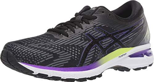 ASICS Women's GT-2000 8 Shoes, 7.5M, Black/Sheet Rock