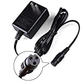 12V Battery Charger for Razor E90-12V 1A Replacement Charger for Razor, PowerRider 360, Jr. Electric Wagon, Boreem Tankman, Mambo Liberty 312, Xcooter Tornado XC505GT2, Minimoto Submersible Cruiser