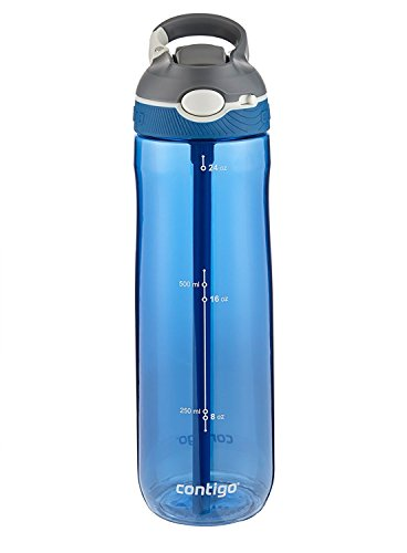 Contigo Autospout Ashland Water Bottle, 24oz , Monaco