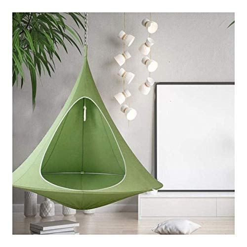 Brushes Green Awning, Hammock Swing Chair With Sun Protection Rainproof Suitable For Outdoor Garden Picnic