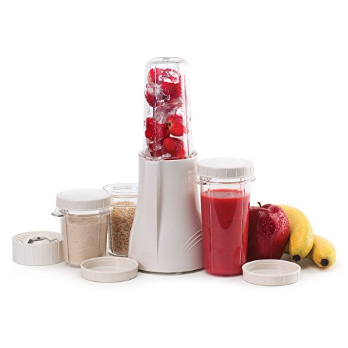 Tribest PB-250R-A Personal Blender and Grinder Package, White (Renewed)