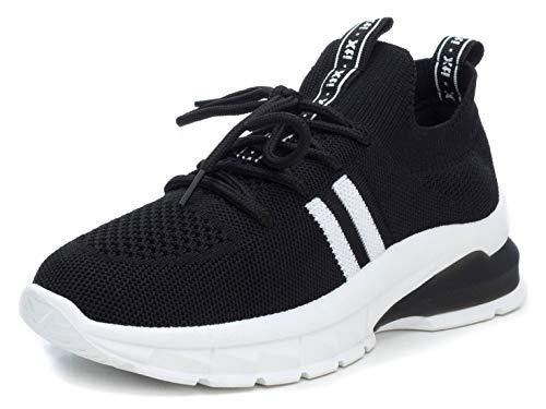XTI 49956.0, Zapatillas Mujer, Negro (Negro Negro), 39 EU