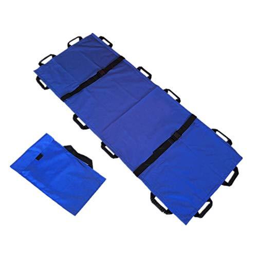 Pañuelo portátil – Toalla de rescate plegable con 12 asas, desechable para la transferencia de pacientes, evacuación de víctimas de accidentes ✅