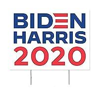 バイデンハリスヤードサイン、マルチカラー2020大統領選挙H型枠付き大型段ボールプラスチックヤードサイン、UVおよび耐候性の芝生、パティオ用防水サイン
