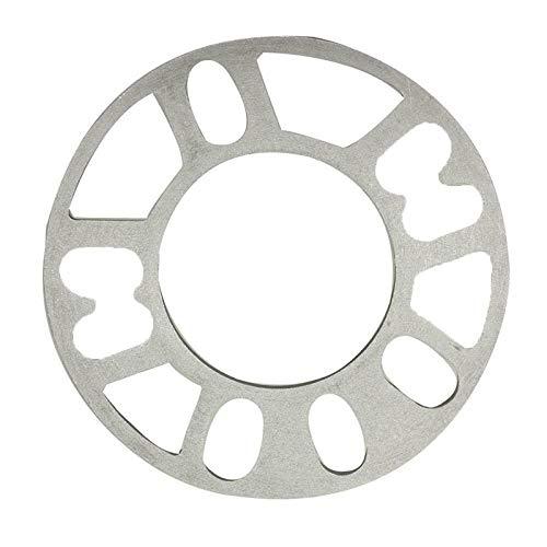 Nologo 5mm Auto-Aluminiumlegierung-Distanz Dichtung Räder Reifen Autoteile Radnaben Auto Mithelfer