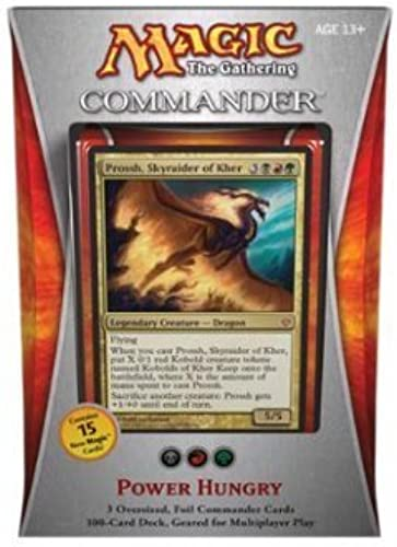 Precio por piso Magic the Gathering - Commander 2013 2013 2013 - Power Hungry Deck by Magic  the Gathering  grandes ahorros