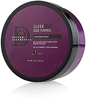 Design Essentials Sleek MAX Edge Control For Smooth All Day Hold & Style - 2.3 Oz