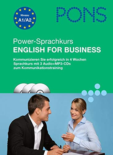 PONS Power-Sprachkurs English for Business (inkl. 3 Audio-CDs + Pocket Trainer)