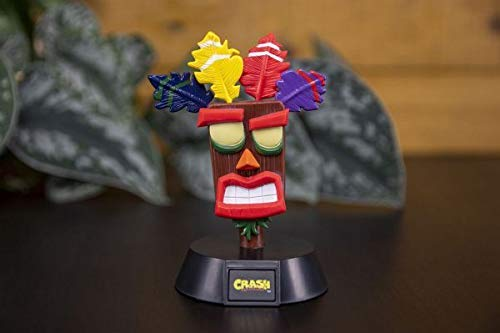 Paladone Mini LAMPARA Crash Bandicoot AKU, 1 W, multicolor