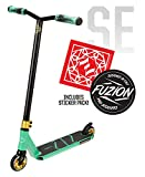 Fuzion Z250 Pro Scooters - Trick Scooter - Intermediate and Beginner Stunt Scooters for Kids 8 Years and Up, Teens and Adults – Durable, Smooth, Freestyle Kick Scooter for Boys and Girls (SE Teal)