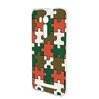 FFANY ZenFone Go (ZB551KL) 用 ハードケース スマホケース パズル柄・ベーシック おもしろ ゲーム パロディ ASUS アスース ゼンフォン ゴーSIMフリー スマホカバー 携帯ケース 携帯カバー puzzle_aao_h190732
