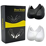 2 Pairs Anti-Wrinkle Shoe Crease Protector Against Shoe Creases,Toe Box Crease Protectors Prevent Sports Shoes Crease for Men's 7-12/ Women's 5-8