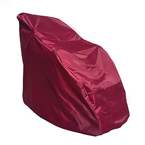RIYIFER Full Body Shiatsu Massage Chair Cover, Zero Gravity Best Massage Chair Cover Thickened Nylon Oxford Material Extend The Life of The Massage Chair,Wine red,150X100X140cm