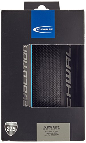 Schwalbe Unisex– Erwachsene G-ONE Speed Reifen, schwarz, CX PRO Perf 35-559-MicroSkin