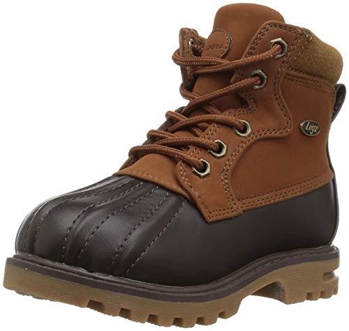 Lugz Baby Mallard Fashion Boot, Rust/Dark Brown/Gum, 5 D US Toddler