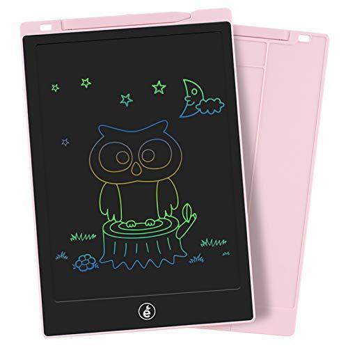 Preisvergleich Produktbild Sunany LCD Schreibtafel, 11 Zoll Bunte Bildschirm Zeichenbrett Kinder, Digital Drawing Tablet for Kinder Spielzeug,  Wiederholtes Schreiben Und ZeichnenPink