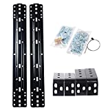 Towever 85000 5th Wheel Accessories Hitch Rail kit fir Universal Full Size Trucks