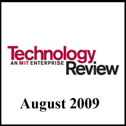 Audible Technology Review, August 2009 audiobook cover art