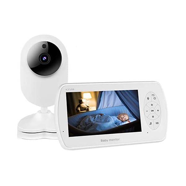 MIGVELA Baby Monitor with Video