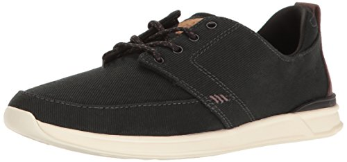 Reef Damen Rover Low Sneaker, Schwarz (Black/Charcoal BLC), 35 EU