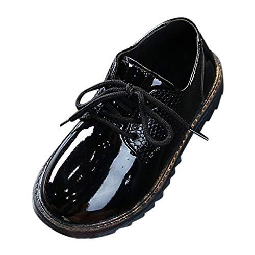 Lederschuhe Junge - Junge Schuhe Schnürhalbschuhe Elegant Oxford Anzug Leder Derby Männer Lackleder Lederschuhe