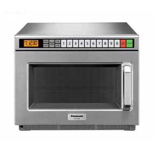 Commercial Series NE-17521 Commercial Microwave Oven 1700 Watts w/ 5 Stage Cooking & LCD Digital Display