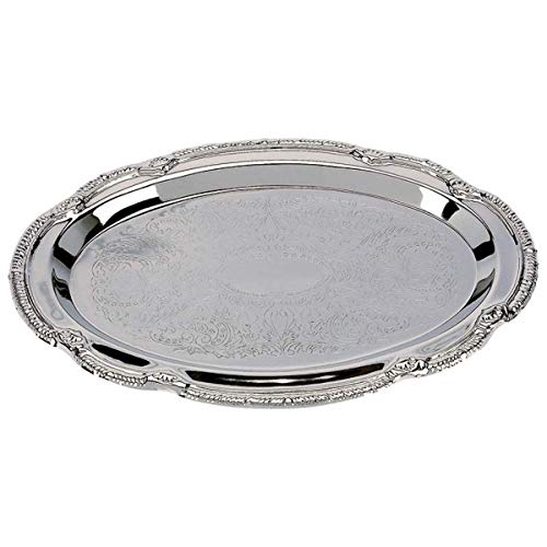 Sterlingcraft Silver Finish Serving Tray 9 x 6 inches 7 14 X 4 14 Serving Area
