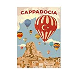 Posters Antalya Santorini Kappadokien Bali Parijs Stad