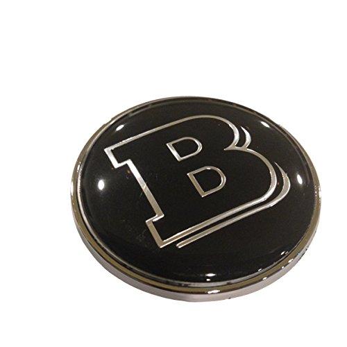 Logo Emblem pour Mercedes Brabus,Color2 Switch Embl/ème Voiture Badge Styling Capot Moteur Logo Badge