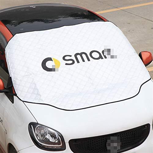 Cubierta De Nieve Anticongelante De Protección Solar Impermeable para Mercedes para Smart Forfour Fortwo 453 451 450 Parabrisas Toldo Cubierta Coche Piezas Automóvil