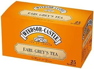 """Windsor-Castle Earl Grey""""s Tea, Beutel mit Umhüllung, 25er, 50 g"""