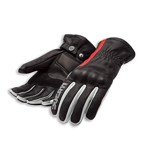 Ducati 77 C1 Handschuhe aus Leder schwarz Größe XL