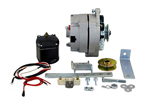 Rareelectrical NEW ALTERNATOR CONVERSION KIT COMPATIBLE WITH 1939-1951 FORD 8N...